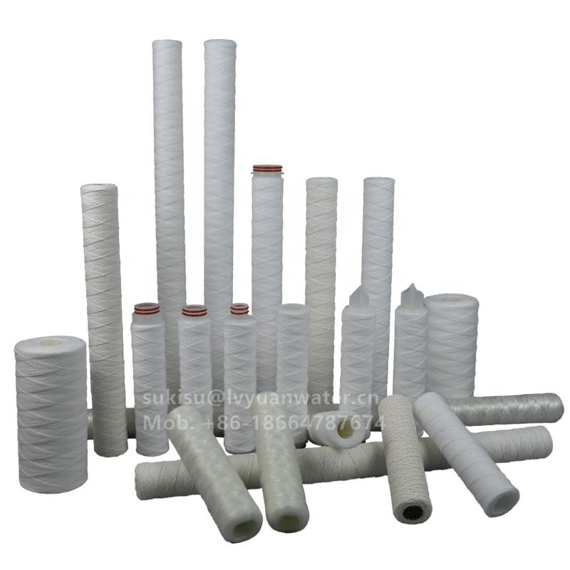 Factory Cheap Price 40 inch 5 micron pp yarn filter cartridge for sale
