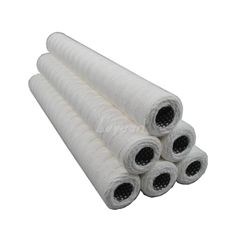Micro Stainless Steel Core PP Absorbent Cotton Water/oil/juice Filter Spiral Wound Cartridge 5/10 Micron
