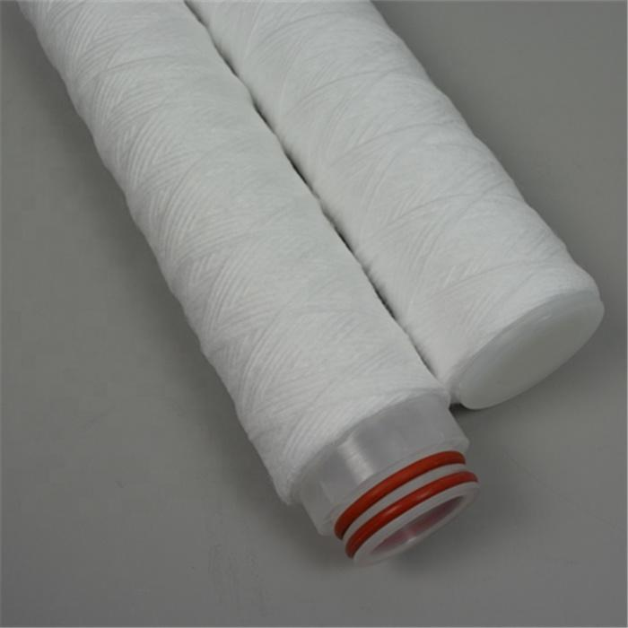 222/226/SOE/DOE end code 1 3 5 10 25 50 micron um polypropylene yarn string PP Wound Filter Cartridge for water treatment