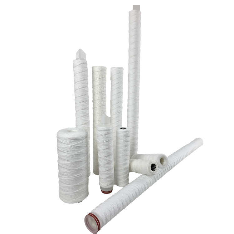 Customized size wound string water filter cartridge with high quality