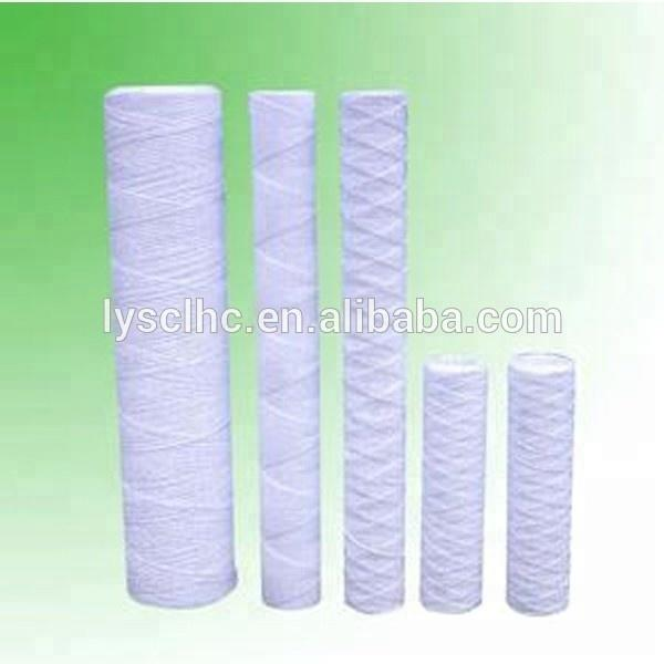 20 micron filter cartridge/thread wound filter cartridge/pp thread made in Guangzhou