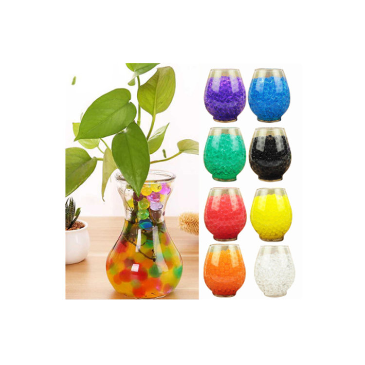 New products of various colors, beads, pearl-shaped hydrogel, crystal clay