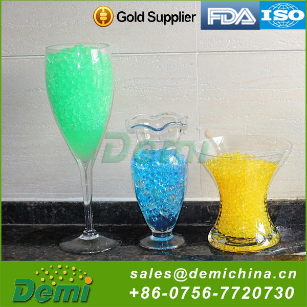 Promotional gift decorative water gel ball