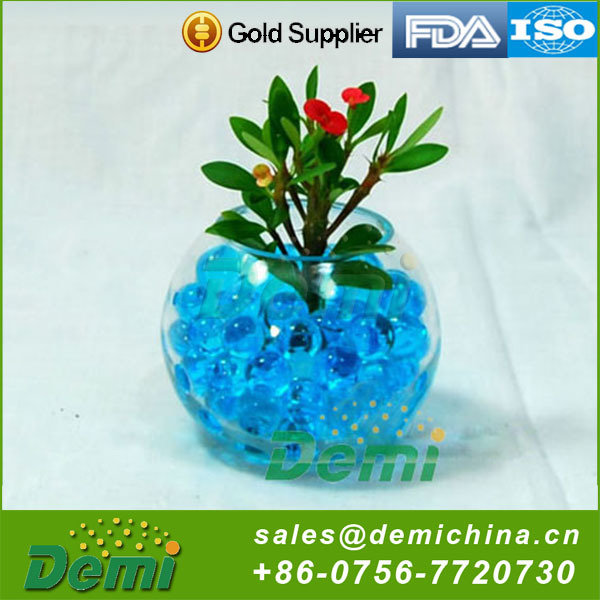 Factory direct sale novelty non-toxic crystal soil hydro gel