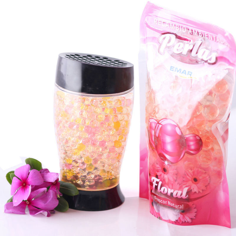Special hot selling 15 colors artificial pearl shape crystal soil for artificial plants