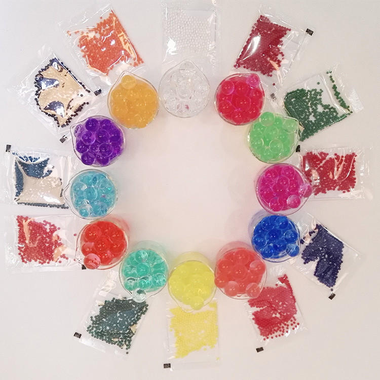 Rhos , REACH Growing Gel Water Balls Beads Crystal Water Beads For Kids Vases