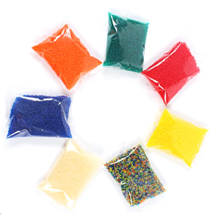 Rhos Guaranteed Quality Non-Toxic water beads, crystal soil water beads
