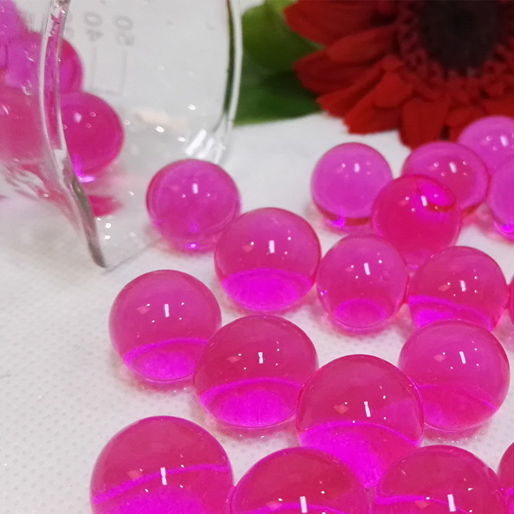 Wholesale high quality 15 colors hydrogel pearl shape big crystal soil