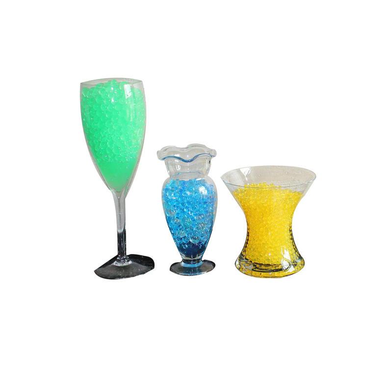 Wholesale Non-toxic Water Gel Rainbow Gel Deco Beads Crystal Soil
