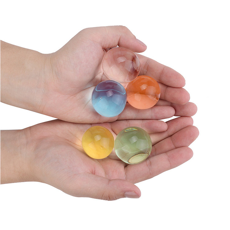 Rohs , REACH Certificates Durable Using Low Price Crystal Clay Crystal Mud Water Beads Gel Ball for Plants