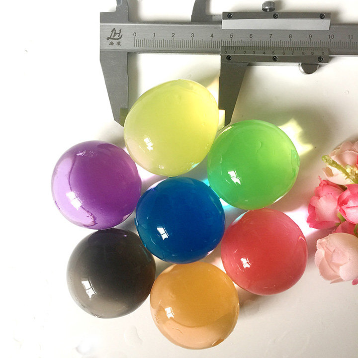 Multifunctional Colorful Crystal Soil Water Gel Beads 1Kg for Home Decoration