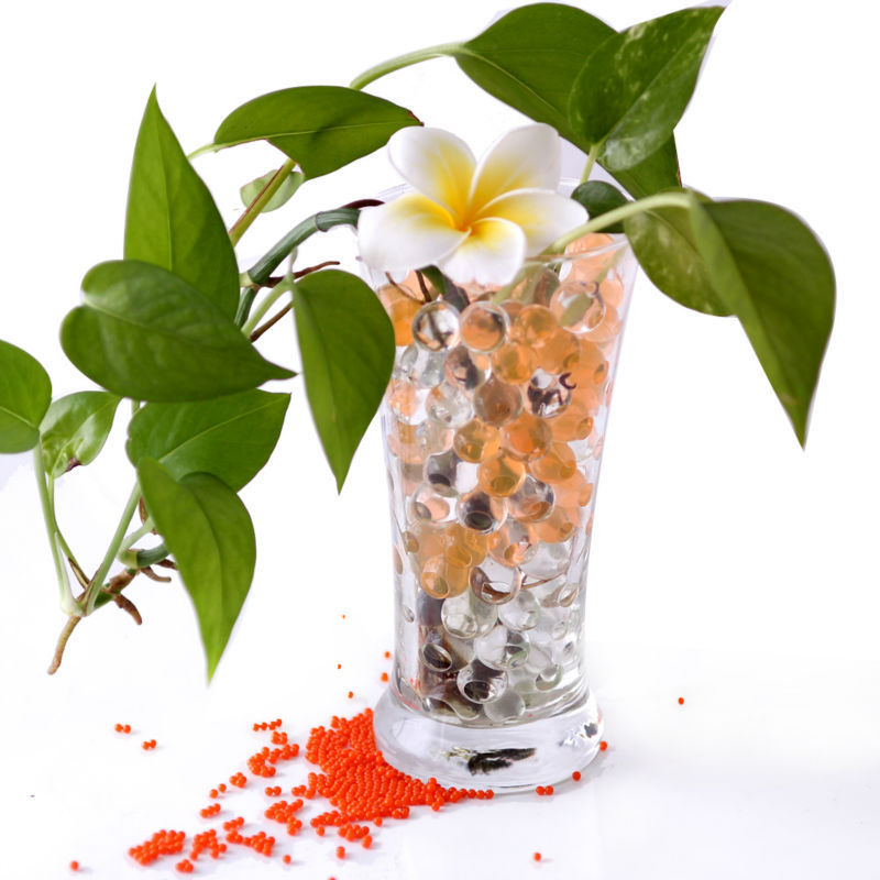 Online Shopping Wholesale Pearl Shape Jelly Plant Crystal Soil Mud