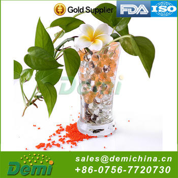 China Supplier Magic water beads Factory biodegradable 3D Water Beads Crystal Soil