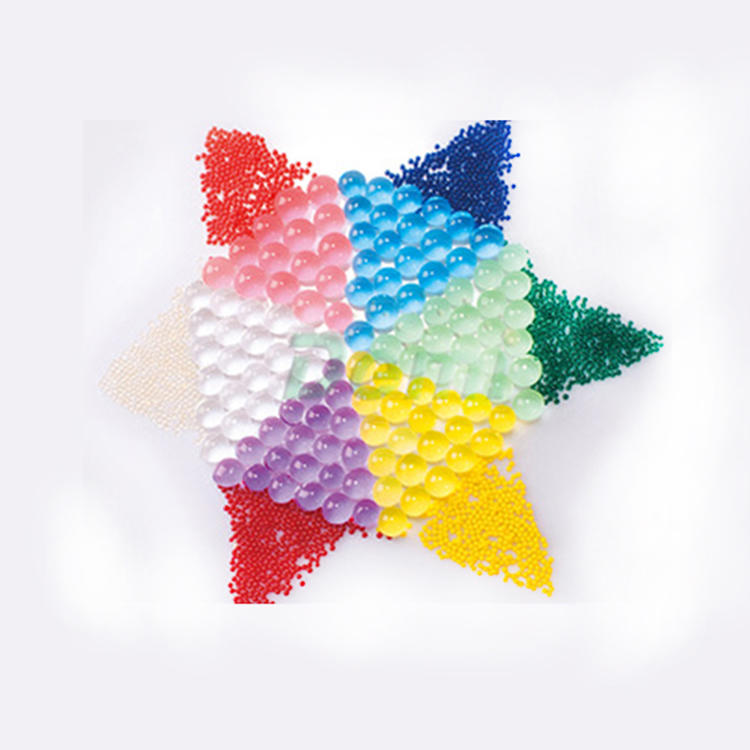 Custom High Quality 15 Colors Available Round Crystal Soil Water Jelly Beads
