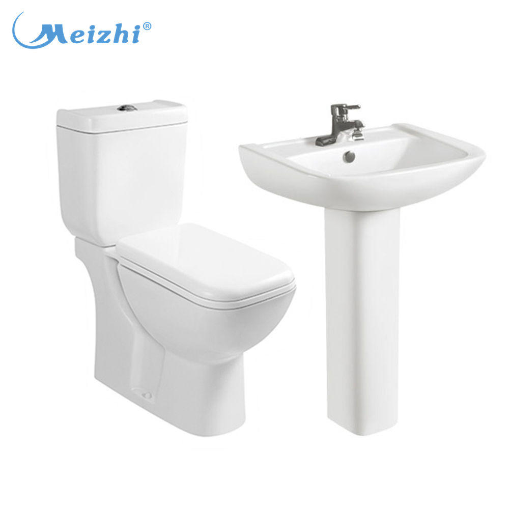 Lebanon bathroom ceramic 2 piece toilet combination sink
