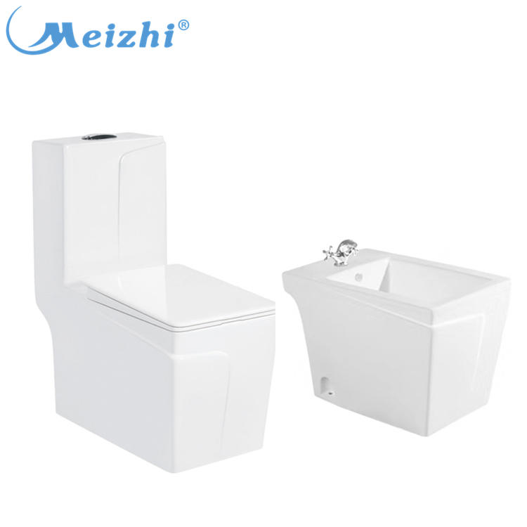 New sanitary ware ceramic bathroom toilet and bidet sets