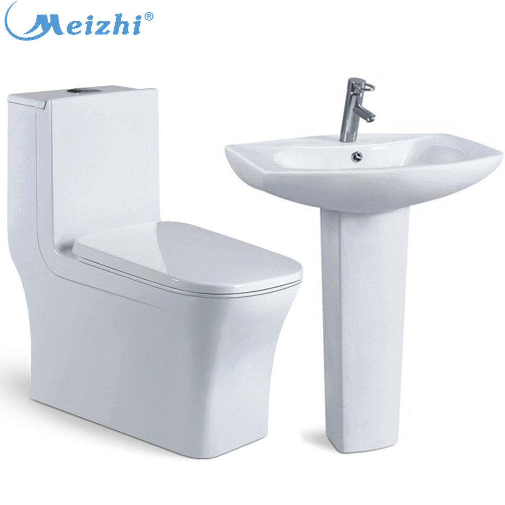Bathroom ceramic toilet hand wash basins