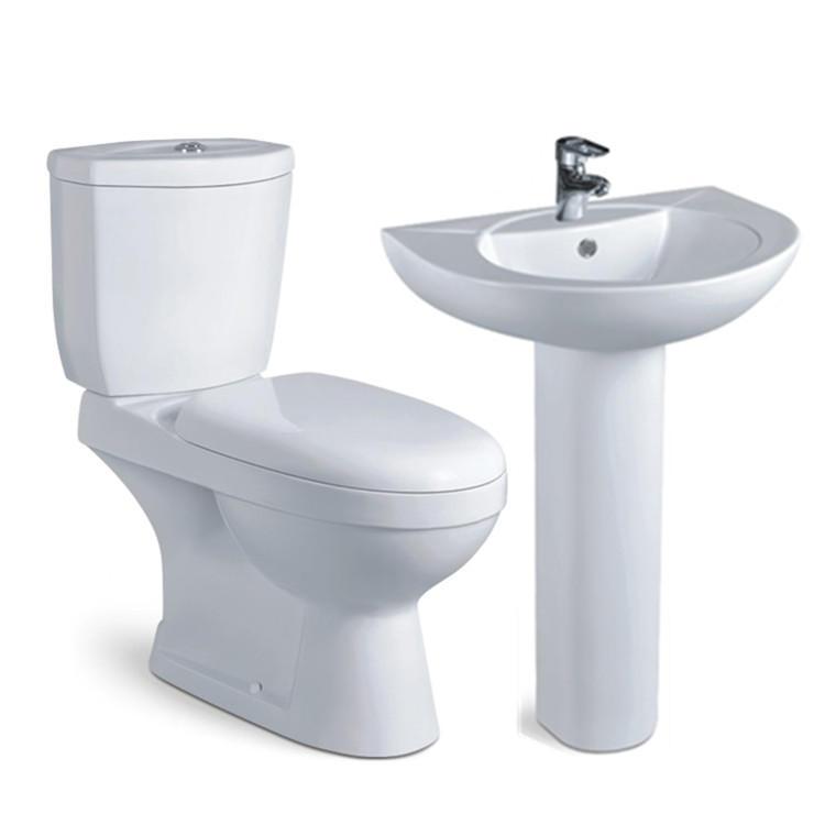 New economic sanitary ware bathroom ceramic wc toilet with wash basin