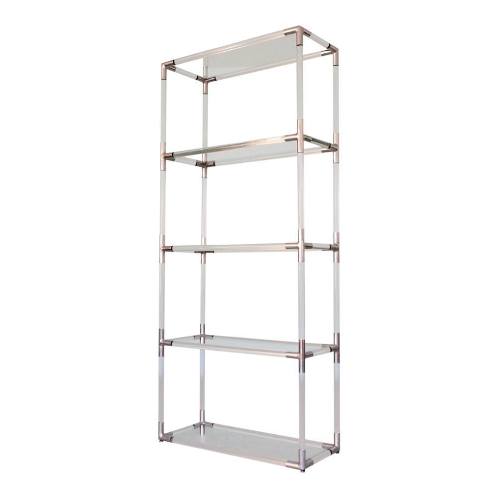 Aluminum Leaning Ladder Bookshelf with International Standard
