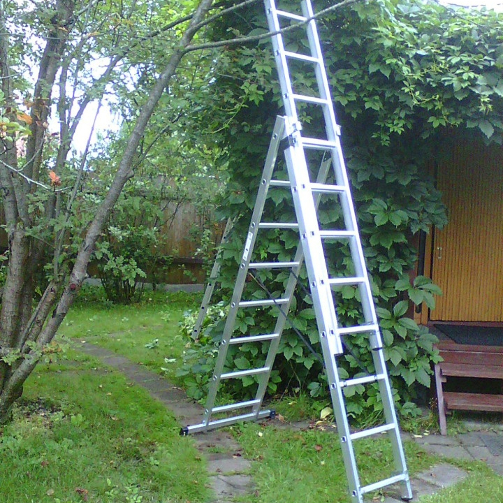 7 foot aluminum antislip step ladder for Chile orchard