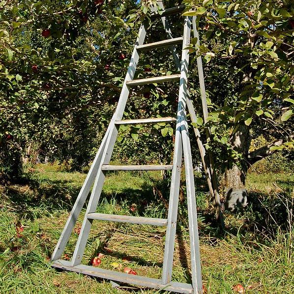 Aluminium tripod ladders garden aluminum ladder