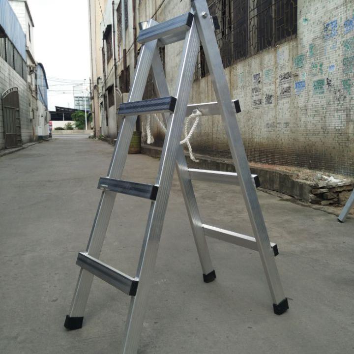 China welded ladder walking aluminium ladder