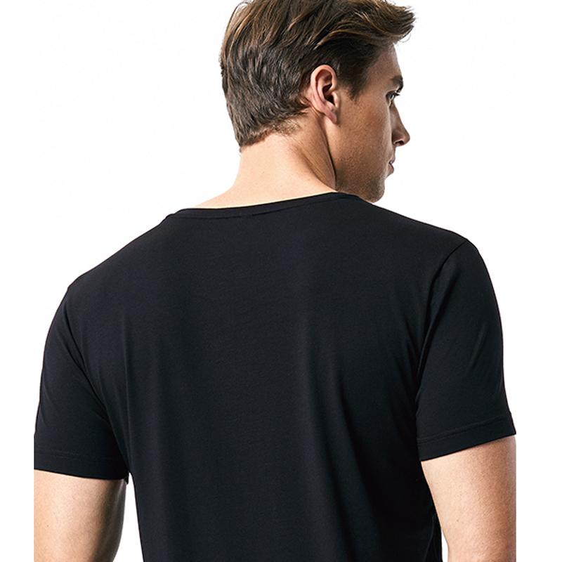 organic white blank man bamboo fiber cotton golf athletictee shirt
