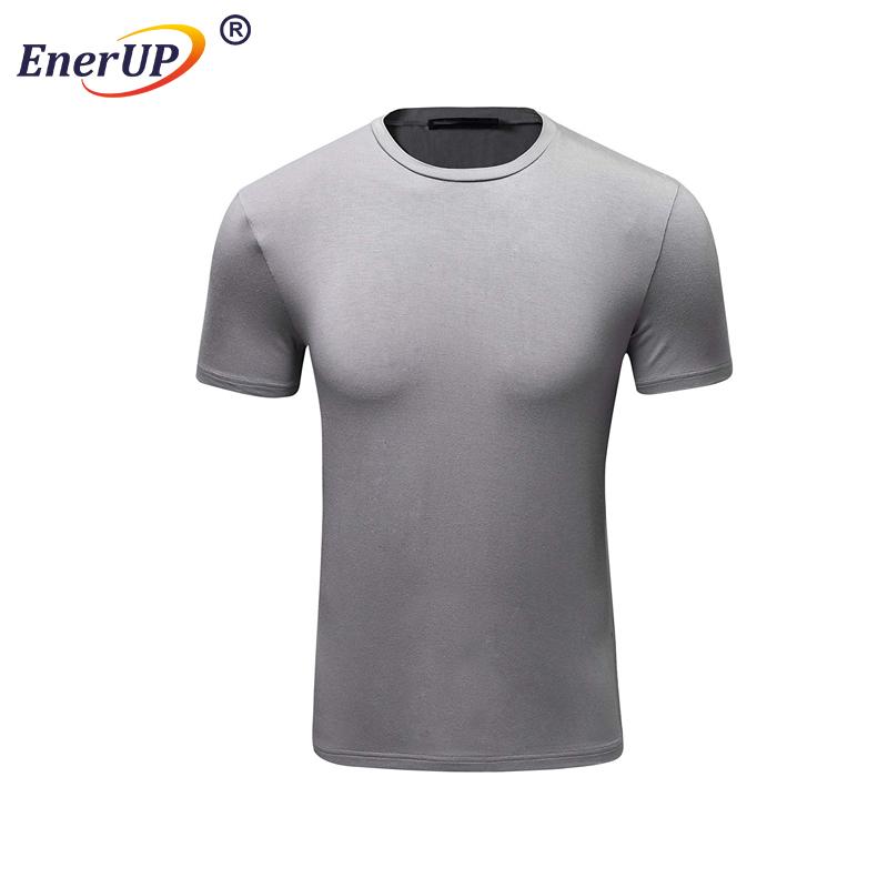 oem white plain round neck mens sports clothes t-shirt