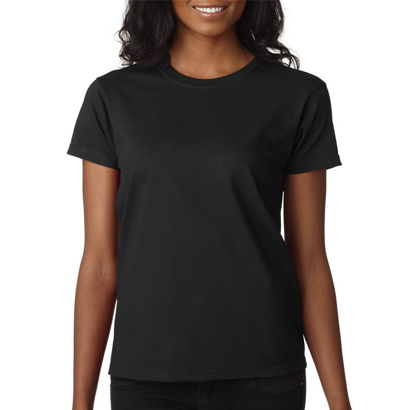 very cheap blank modal and cotton plain fitted ladies women t-shirts