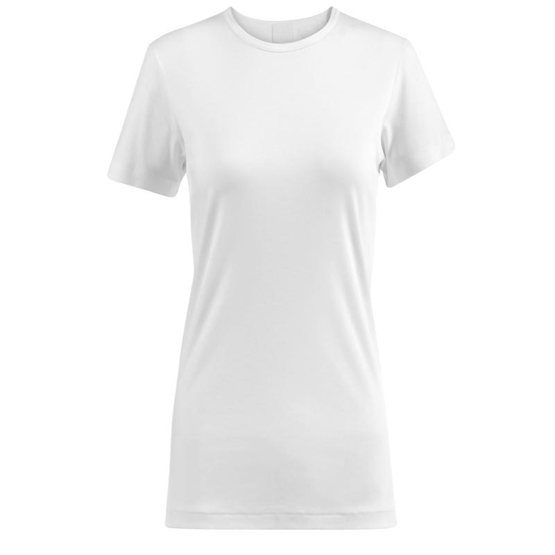 wholesale short sleeve round neck ladies tshirt for sale