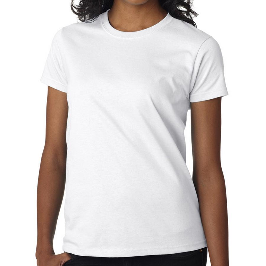 high quality custom logo white cotton plain crew neck dry fit sports woman t-shirts
