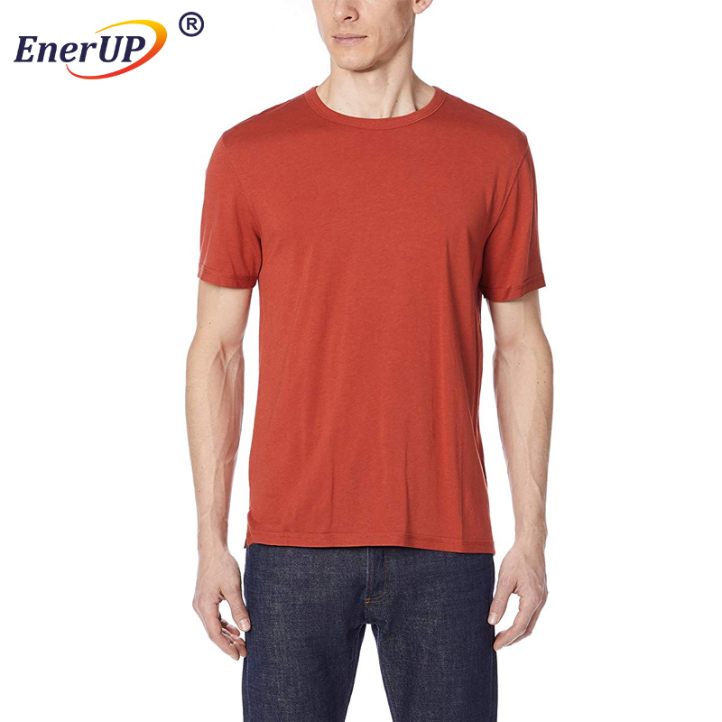 customized logo soft and thin cotton loose dry fit v neck mens t-shirt