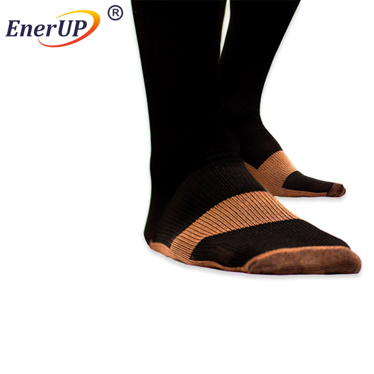 Copper Bamboo Athlete's Foot Control Toe Sock