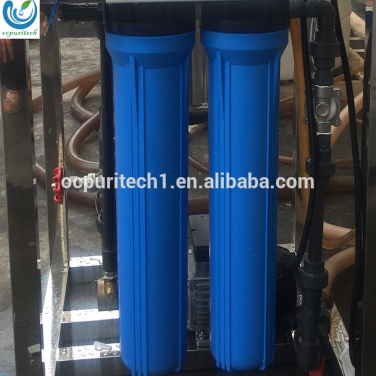 Drinking water Reverse Osmosis water purification machine with 800GPD