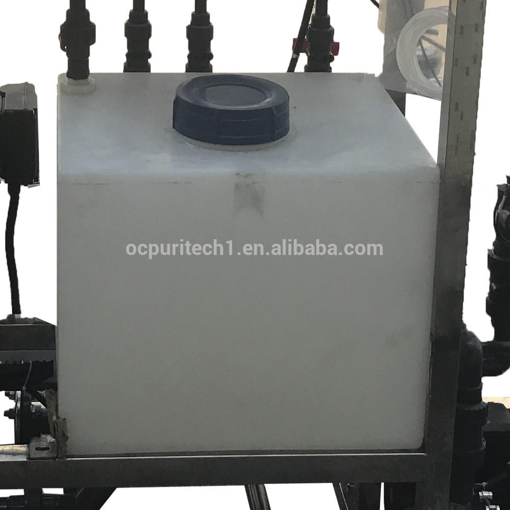 Water Purification Systems 500L/H Reverse Osmosis Treatment Systems For Electronic Industry