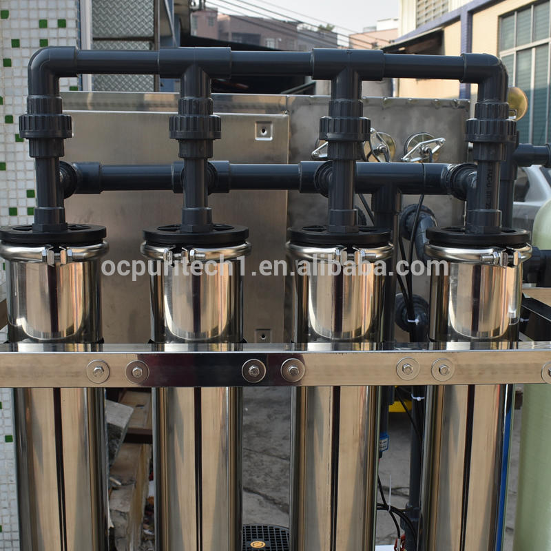 Hospital small 1000L/hr ro system/salts recovery plant with manual softener