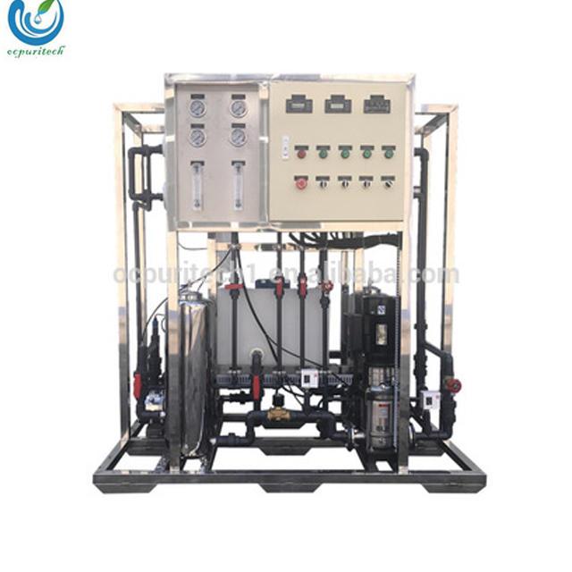 500Liter per hour Industrial ro water filter Reverse Osmosis plant salt water treatment machine
