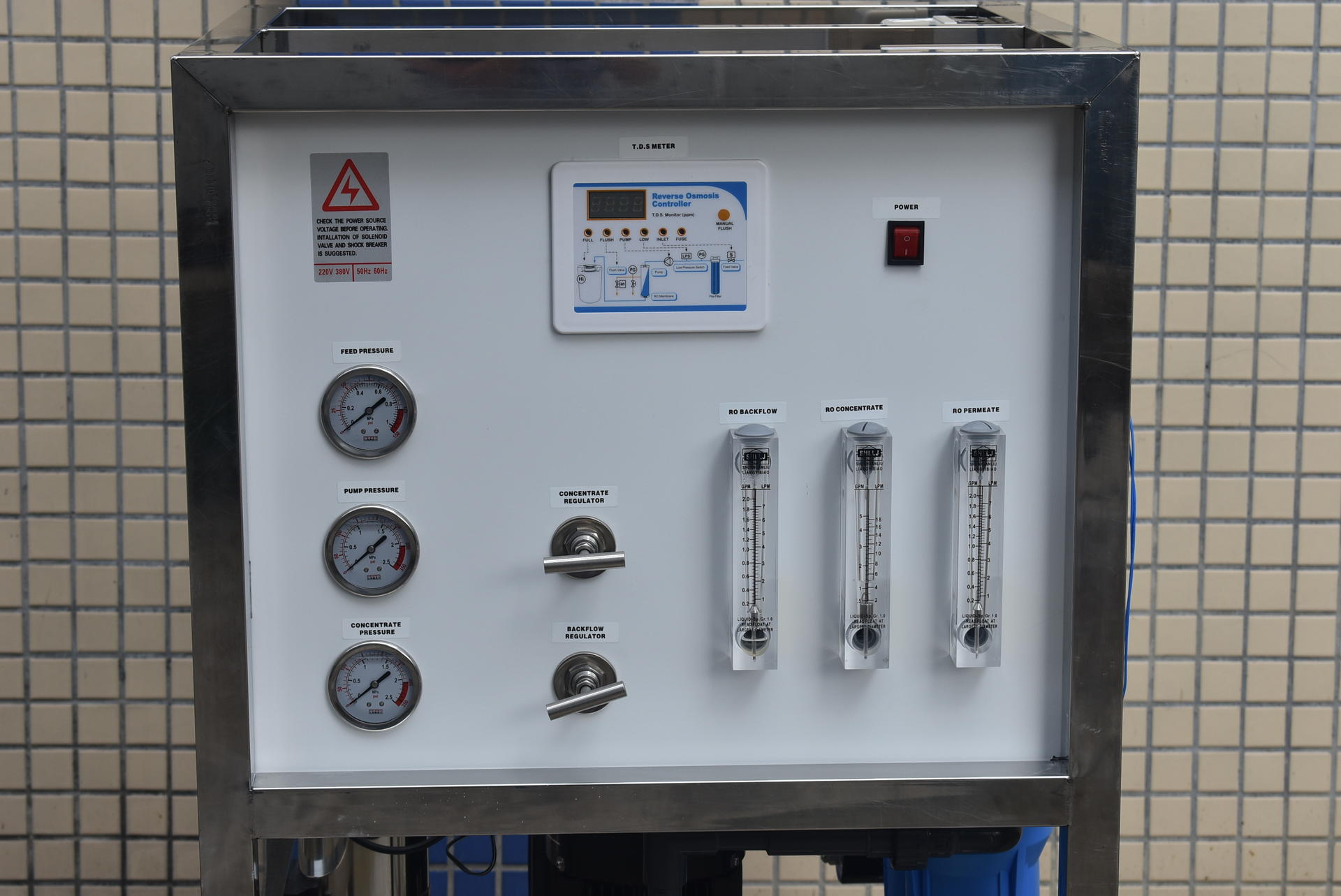 pure water treatment plant RO system, water purification systems for africa