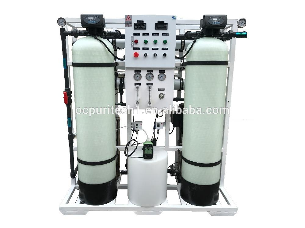 Low cost and hight quality 750LPH RO magnetic water treatment device plant