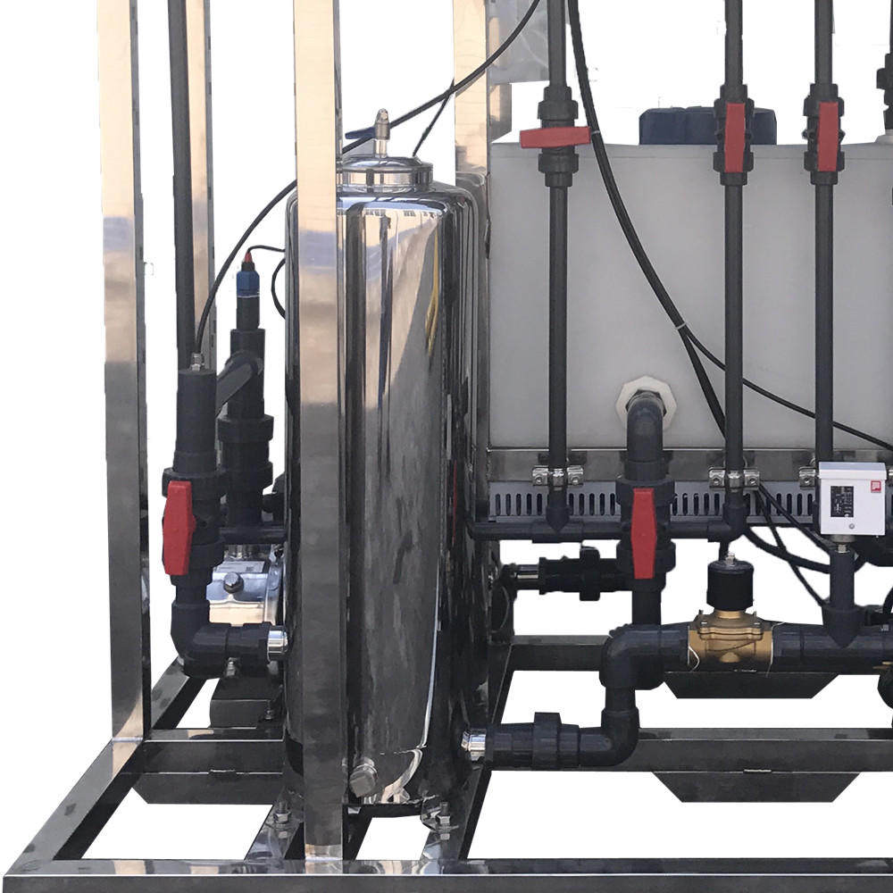 500L per hour Reverse Osmosis System Salty Water Treatment Machine Manufacturer with CIP system