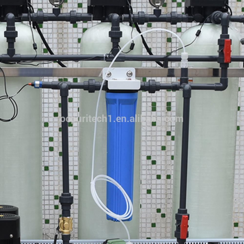 Mineral water factory large scale 250lph water purification system RO with dosing system