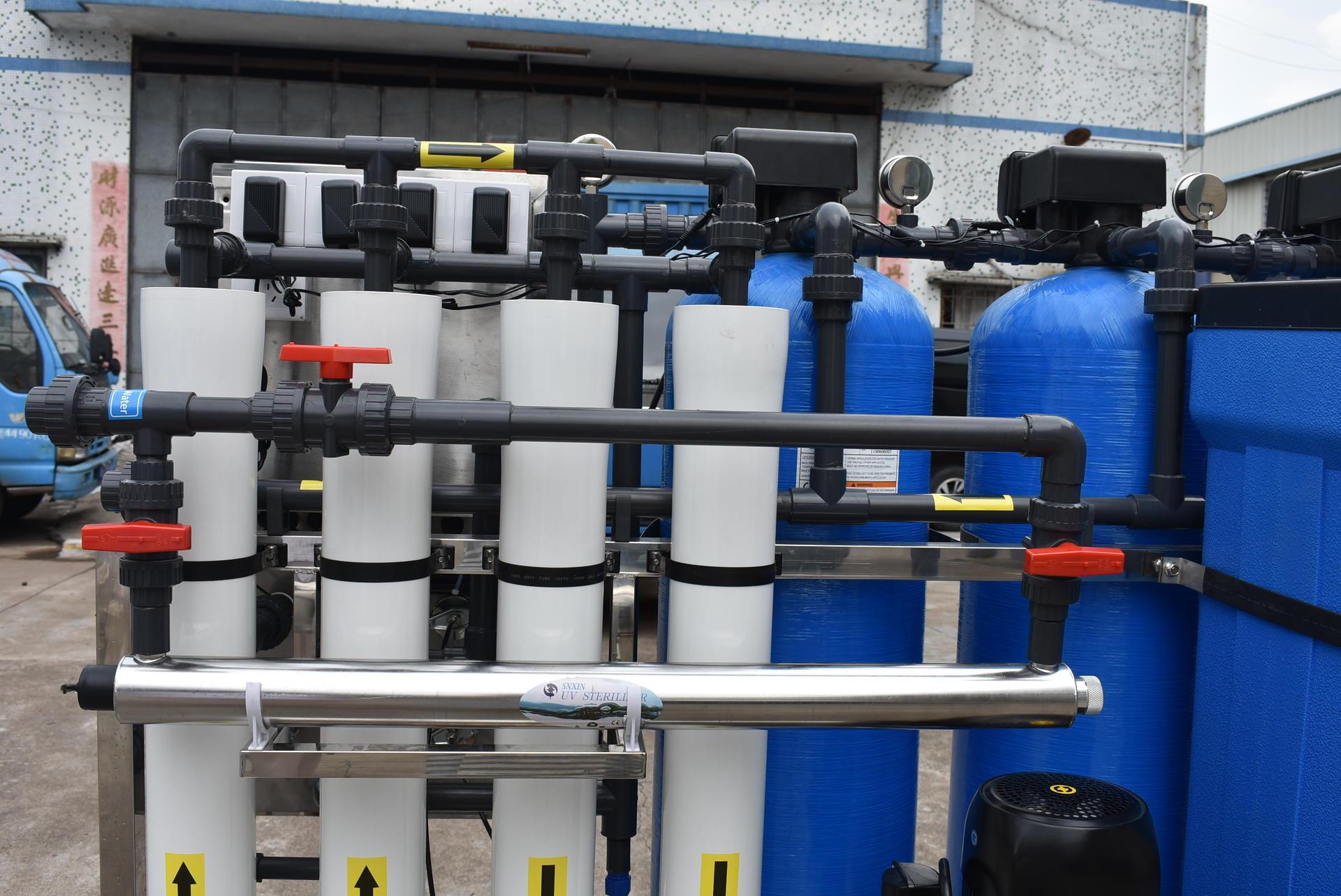 1000 liter per hour Reverse osmosis Filtre aeau pour eau potable