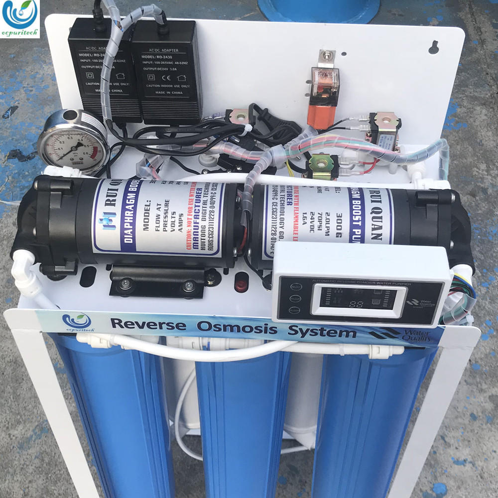 400GPD 5 stages reverse osmosis ro system mineral water filter purifier