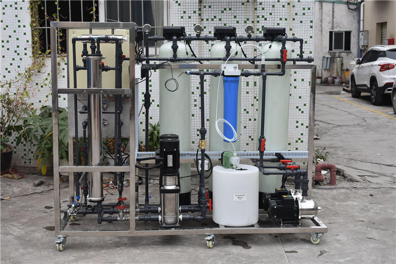 Industrial ro plant 250 lphwater purifier machine ro treatment plant for factory