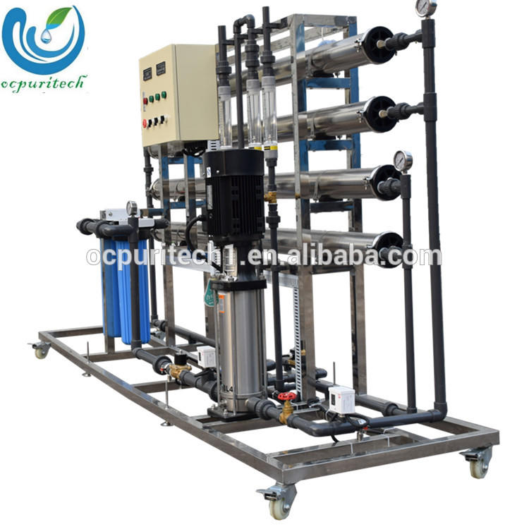 Low cost 2000LPH Commercial water Reverse Osmosis treatment plant for water purifier