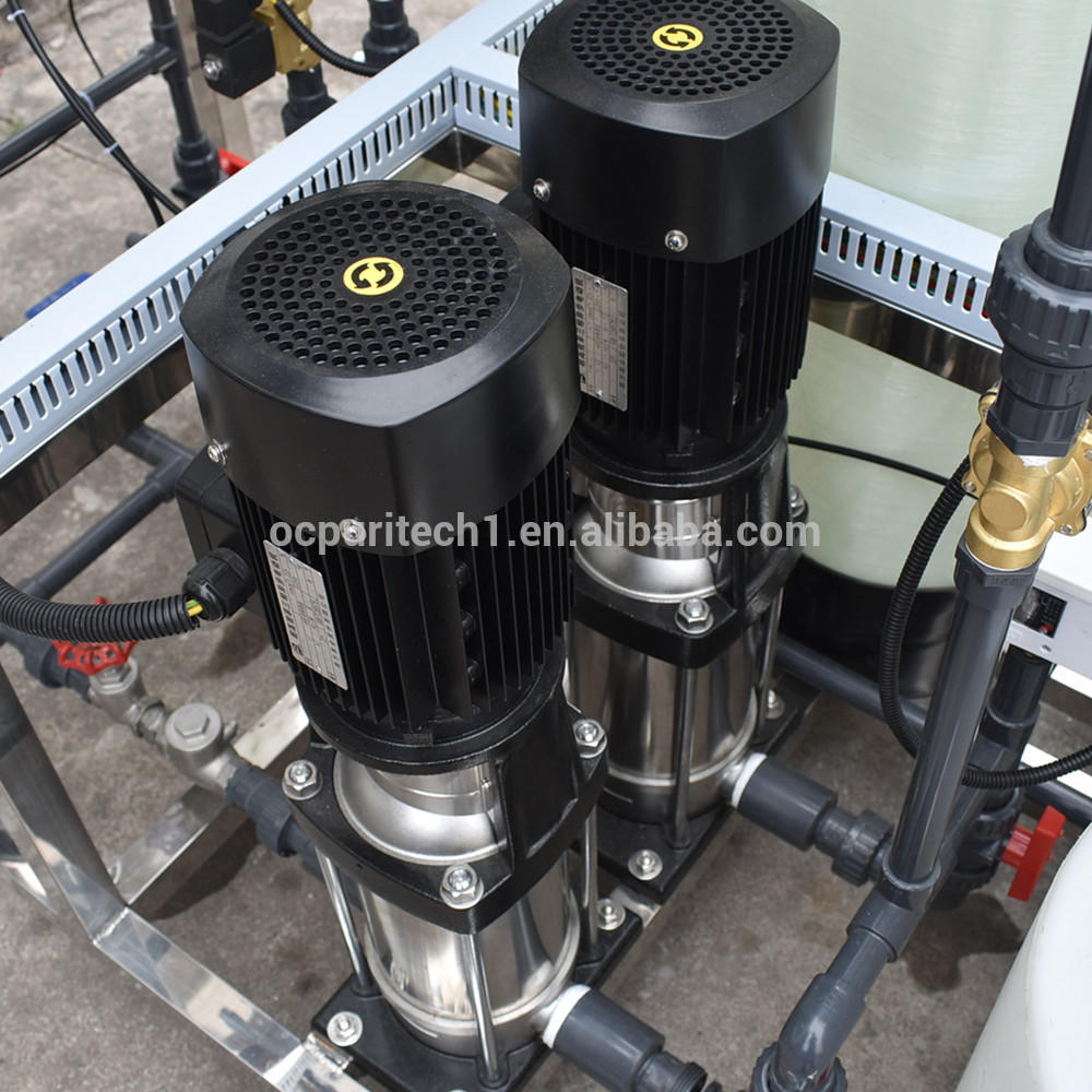 250 lph environmental protection equipment reverse osmosos with sand carbon water softener filter valve