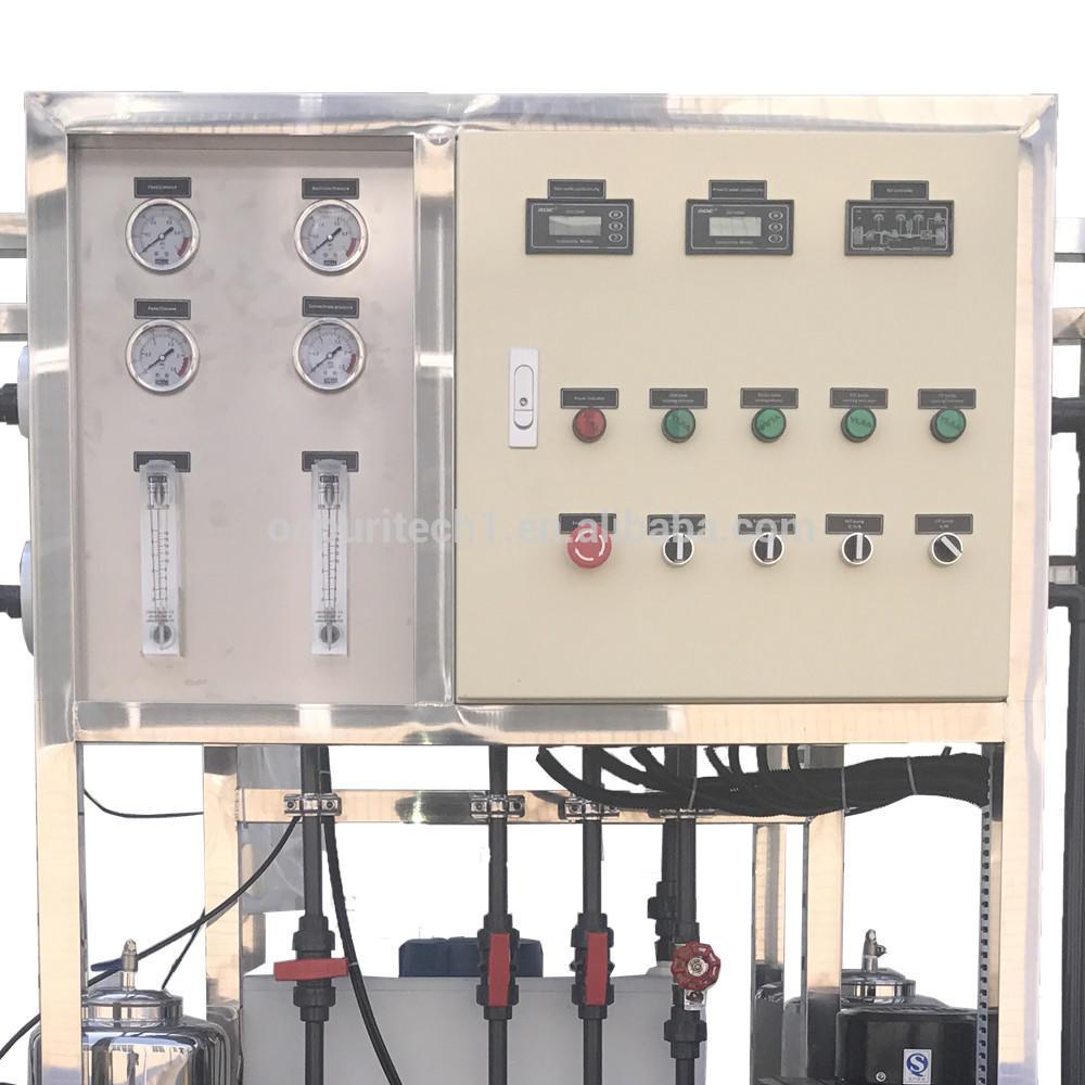 Water desalination machine 500L/H water purifier/ro machine with CIP system