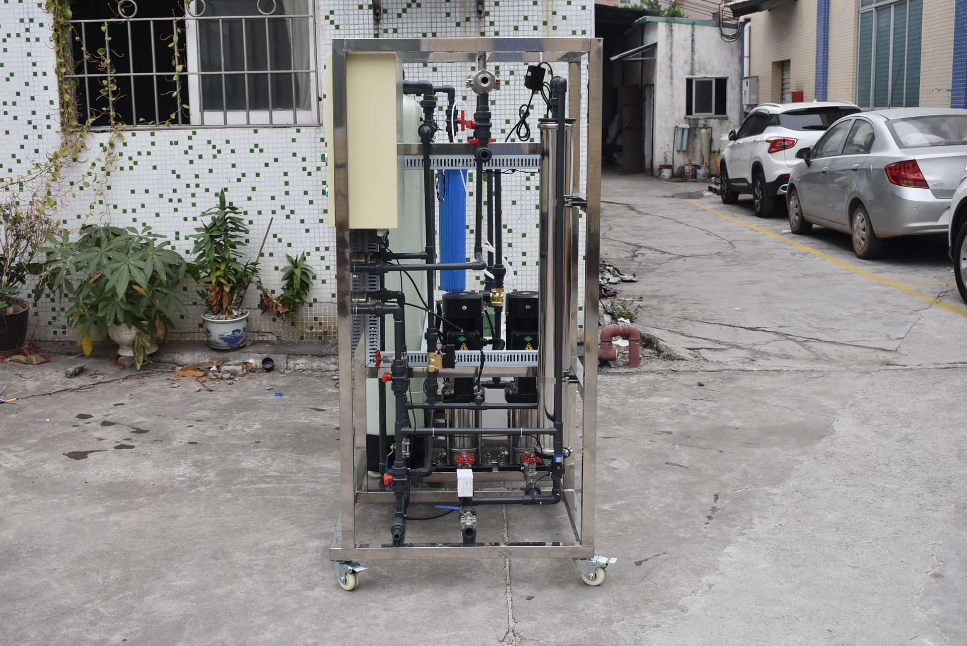 500 liters per hour reverse osmosis water system price
