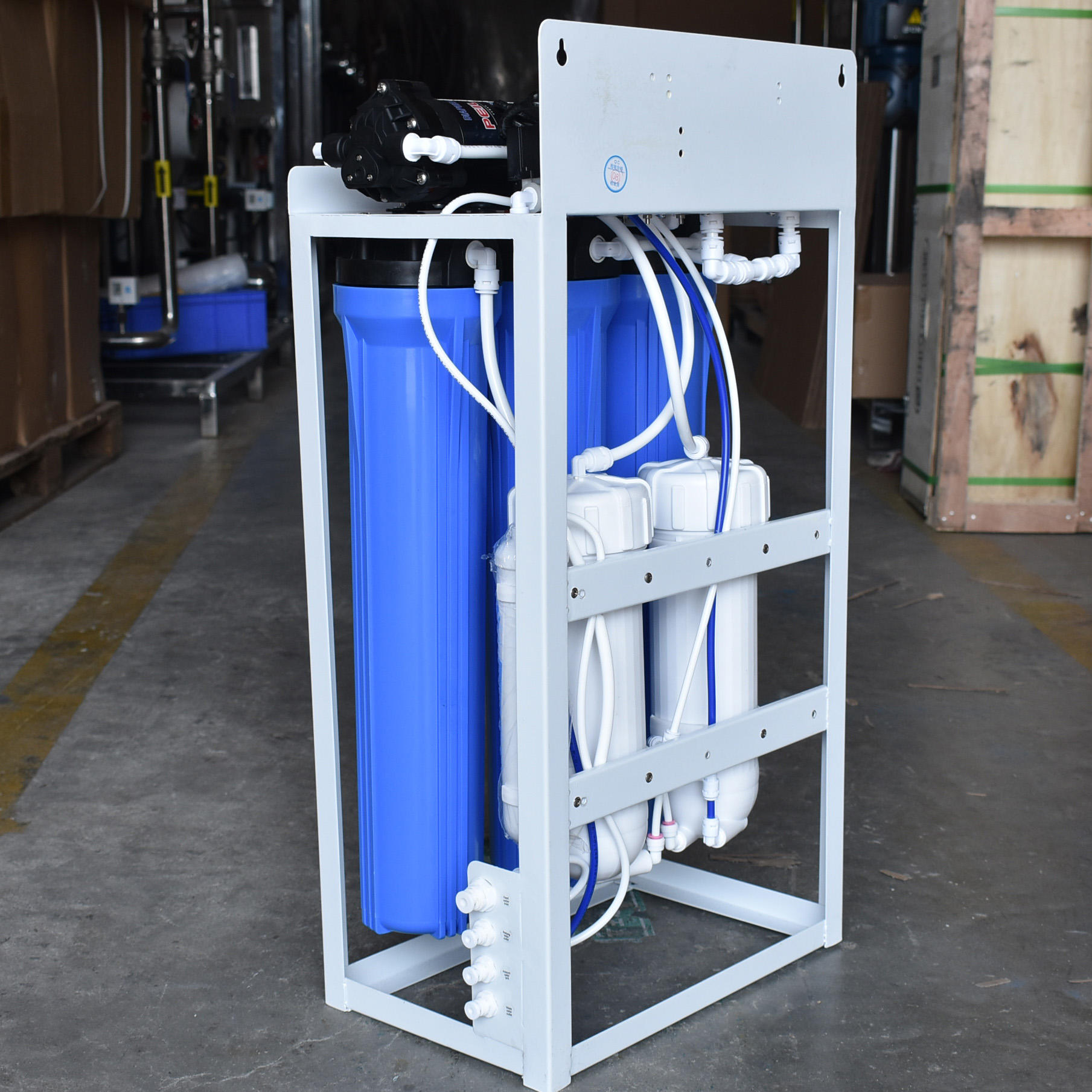 6stage drinking water purification plant RO whole house water filter
