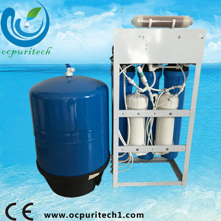 New price six stage filter water purifier with iron frame